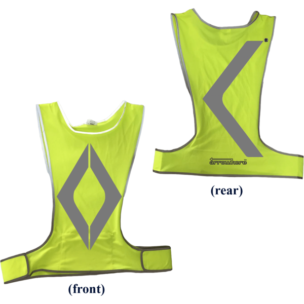 ArroWhere Lightweight Vest Color: Day Glo Yellow