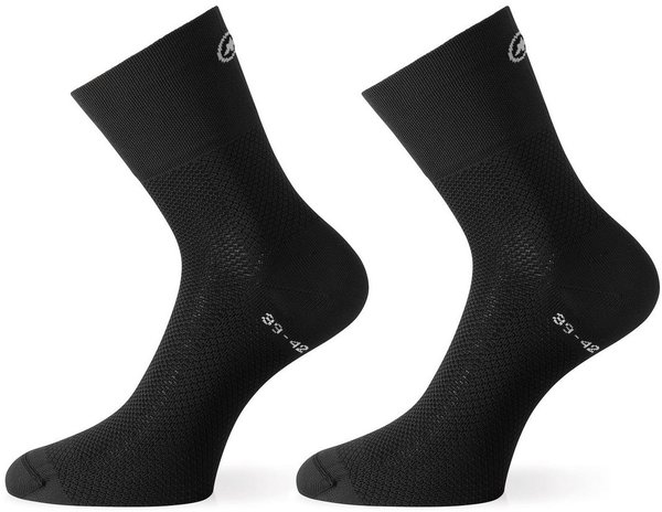 Assos Assosoires GT Socks Color: Blackseries