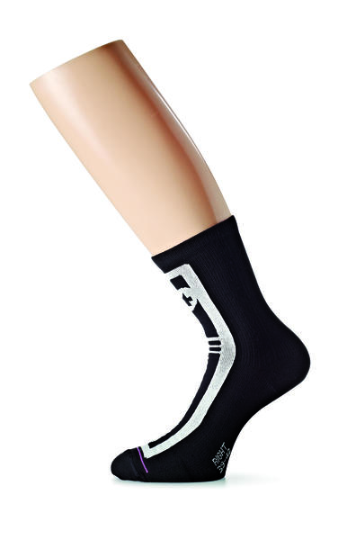 Assos Habu Sock Evo7 Color: Black Volkanga