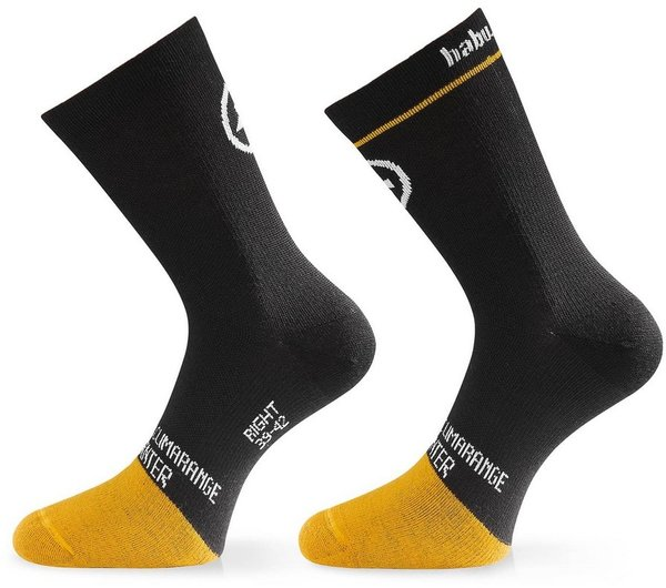 Assos habuSock_evo8 Color: Blackseries