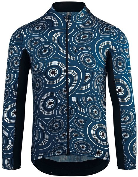 Assos Mille GT Summer LS Jersey Color: caleumBlue