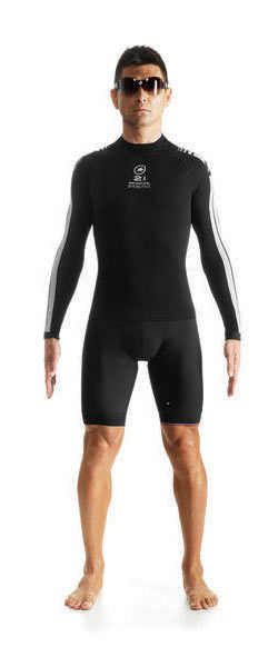 Assos LS skinFoil Spring Fall S7 Body Insulator Color: Block black