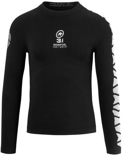 Assos LS.skinFoil_earlywinter_Evo7 Body Insulator Color: Blockblack