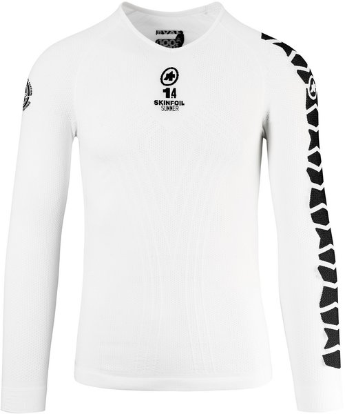Assos LS.skinFoil_summer_evo7 Color: Holy White