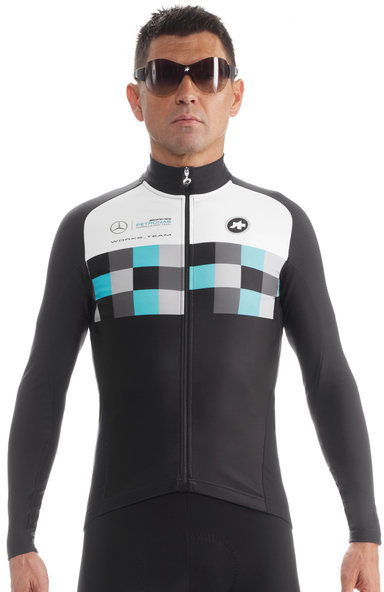 Assos LS.works_teamJersey_evo8 Color: FF1 Green