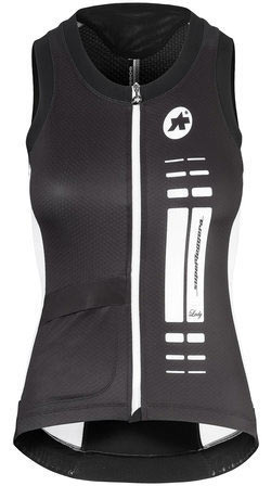 Assos NS.SuperLeggera Lady Jersey Color: Black Volkanga