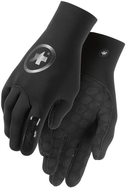 Assos rainGloves_evo7 Color: Black Volkanga