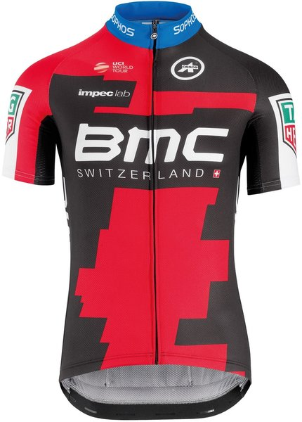 Assos SS Jersey BMC 2018 Color: Black/Red