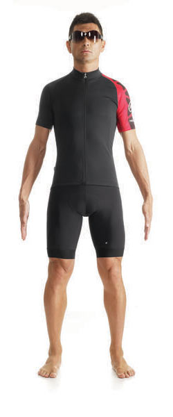 Assos SS Mille Jersey Evo7 Color: Red