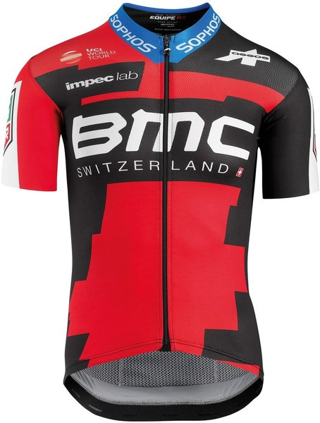 Assos SS proTeam Jersey BMC 2018 Color: Black/Red
