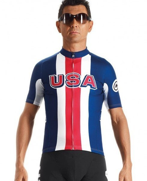 Assos SS.jersey USA Cycling Color: Red/White/Blue