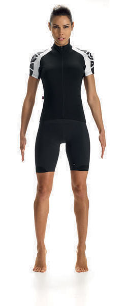 Assos SS.Laalalaijersey_Evo7 Lady Color: Block Black