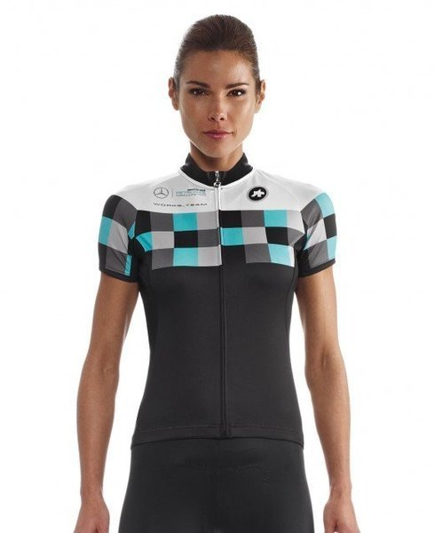 Assos SS.works_teamJersey_evo8 Lady Color: FF1 Green