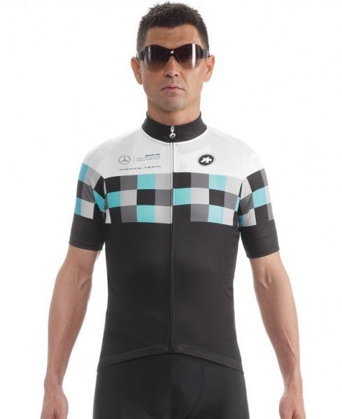 Assos SS.worksteamJersey_evo8 Color: Ff1 Green