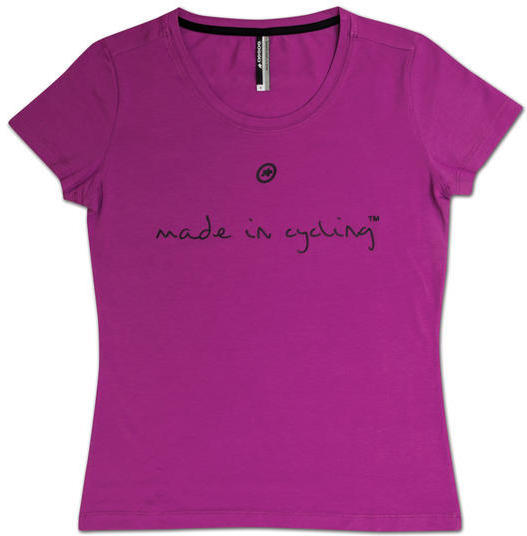 Assos T-Shirt Made in Cycling Lady SS Color: Amethyst