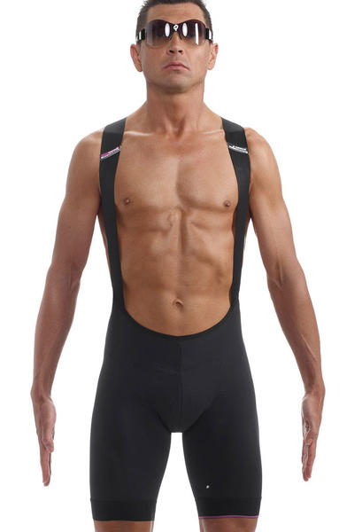 Assos T.Equipe S7 Bib Shorts Color: Black Volkanga