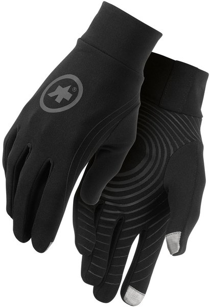 Assos Tiburu Glove Evo7 Color: Black Volkanga