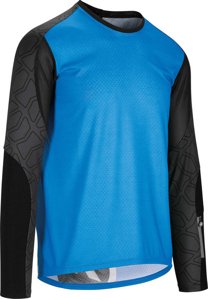 Assos TRAIL LS Jersey Color: corfuBlue