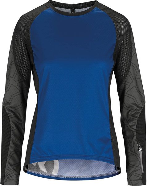 Assos TRAIL Women's LS Jersey Color: twilightBlue