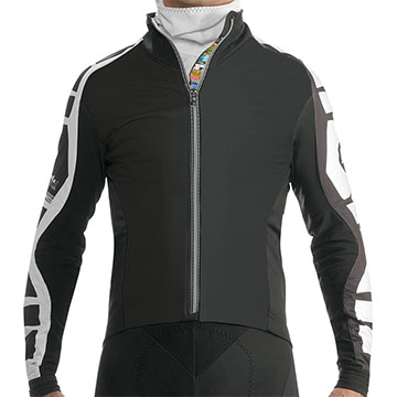 Assos IJ Bonka 6 Mille Jacket Color: Black Volkanga