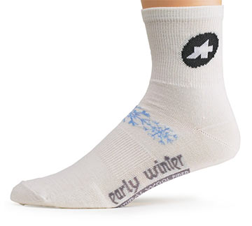 Assos Early Winter Socks Color: White