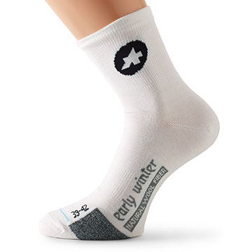 Assos Early Winter Socks S7 Color: White Panther