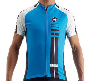 Assos SS Mille Jersey Color: Blue