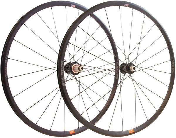 Astral Cycling Solstice Disc Wheelset