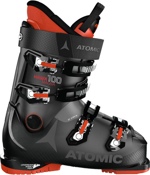 Atomic Hawx Magna 100 Color: Black/Anthracite/Red