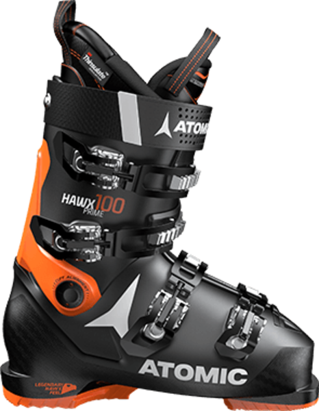 Atomic Hawx Prime 100 Color: Black/Orange