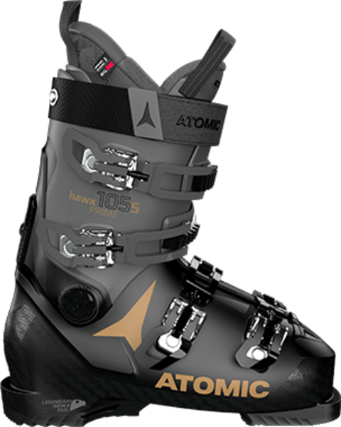 Atomic Hawx Prime 105 S W Color: Black/Anthracite/Gold