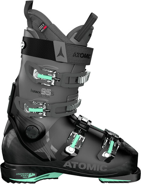 Atomic Hawx Ultra 95 S W Color: Black/Anthracite/Mint