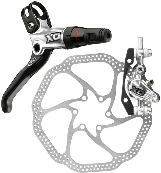 Avid X0 Hydraulic Disc Brake Mounting bracket and rotor sold separately.