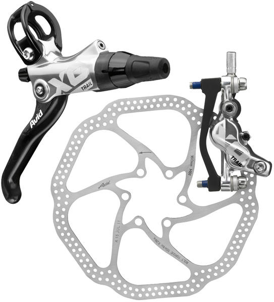 Avid X0 Trail Hydraulic Disc Brake Kit Color: Silver