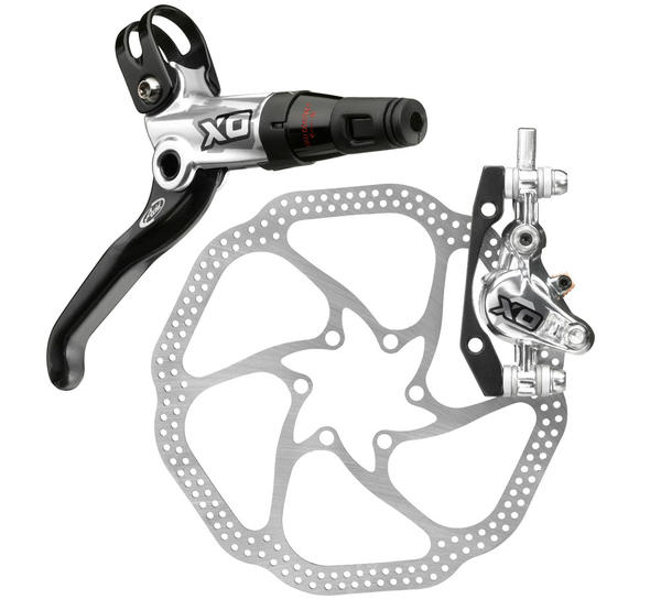 Avid X0 Hydraulic Disc Brake Color: Silver