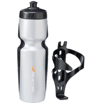 Avenir Bottle and Cage Set (Plastic)