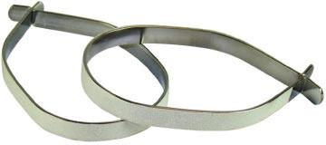 Avenir Reflective Steel Cuff Clips