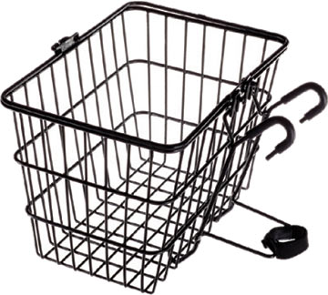 Avenir Quick-Release Front Basket Color: Black