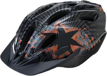 Avenir Ranger Youth Helmet Color: Black/Orange