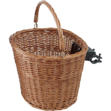 Avenir Quick-Release Front Wicker Basket