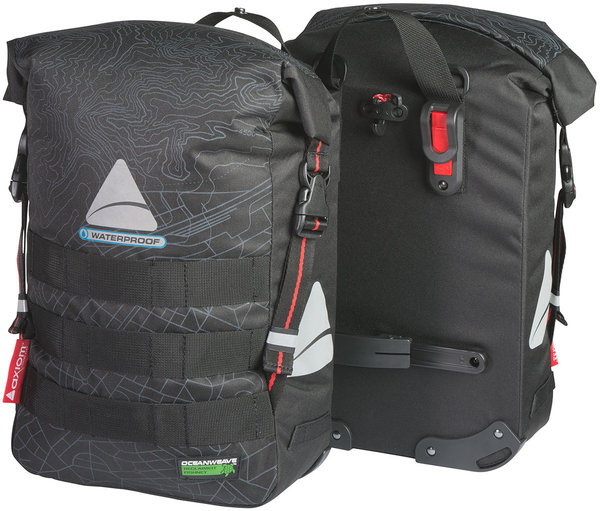 Axiom Monsoon Oceanweave 32+ Pannier Color: Black