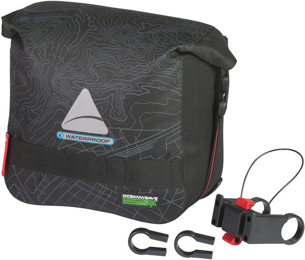 Axiom Monsoon Oceanweave 9+ Bar Bag Color: Grey/Black