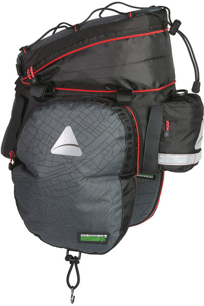Axiom Seymour Oceanweave EXP19+ Expandable Trunk Bag Color: Grey/Black