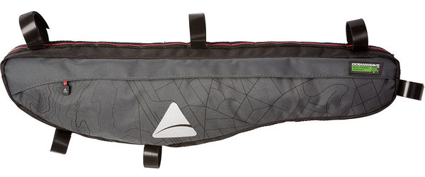 Axiom Seymour Oceanweave Framepack P4.5 Color: Grey/Black