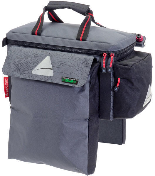 Axiom Seymour Oceanweave Trunk Exp15+ Color: Gray/Black