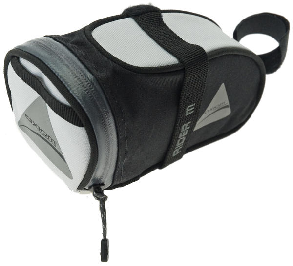 Axiom Rider DLX Seat Bag (Medium) Color: White/Black