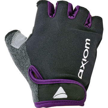 Axiom Journey LX Child Gloves Color: Black/Eggplant