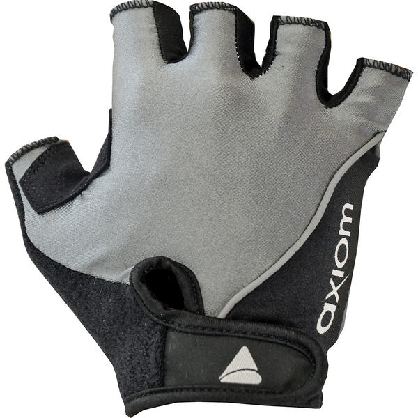 Axiom Discovery Gel Gloves Color: Charcoal/Black