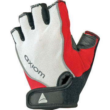 Axiom Zone DLX Gel Gloves - Women's Color: White/Red
