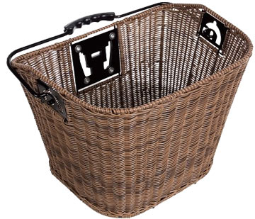 Axiom QR Faux Wicker Basket